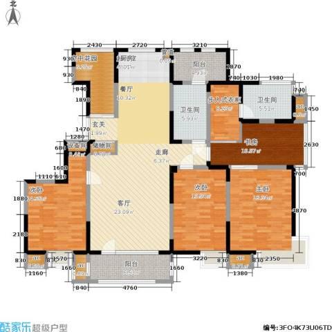 彩凤山城观邸4室0厅2卫0厨164.00㎡户型图