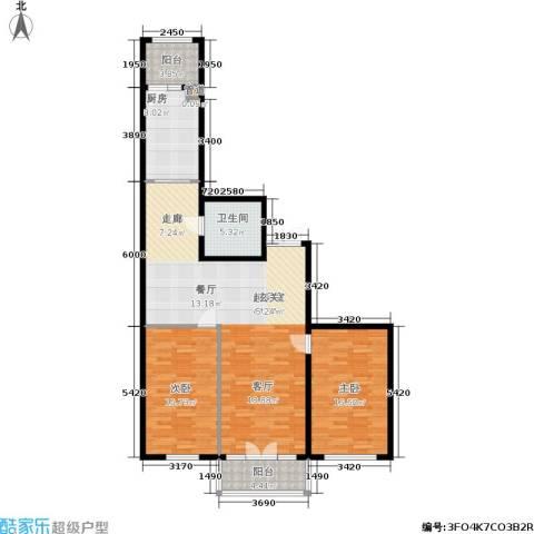 畅心园2室0厅1卫1厨138.00㎡户型图