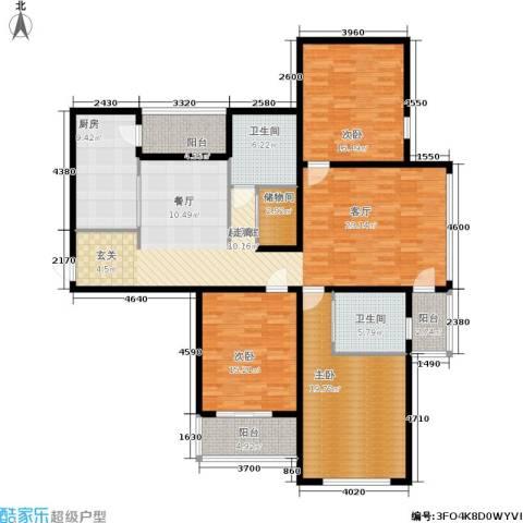 丛台花园3室0厅2卫1厨191.00㎡户型图