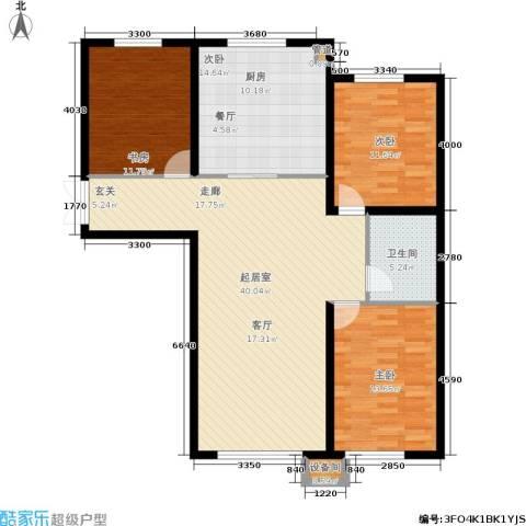 香榭丽花园4室0厅1卫0厨136.00㎡户型图