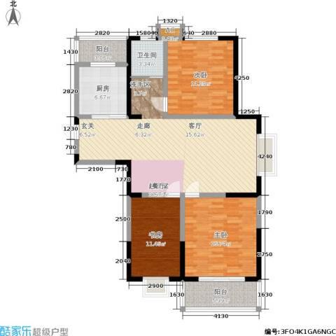英祥承德公馆3室0厅1卫1厨112.00㎡户型图