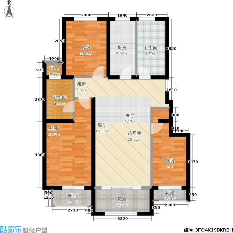 桦林颐和苑28、33#楼C5户型