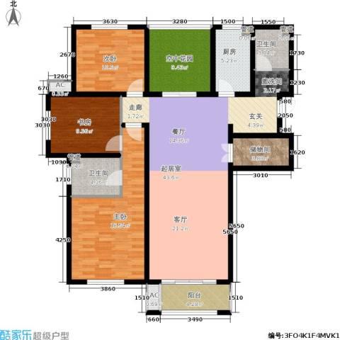 景栊湾(售罄)3室0厅2卫1厨139.00㎡户型图