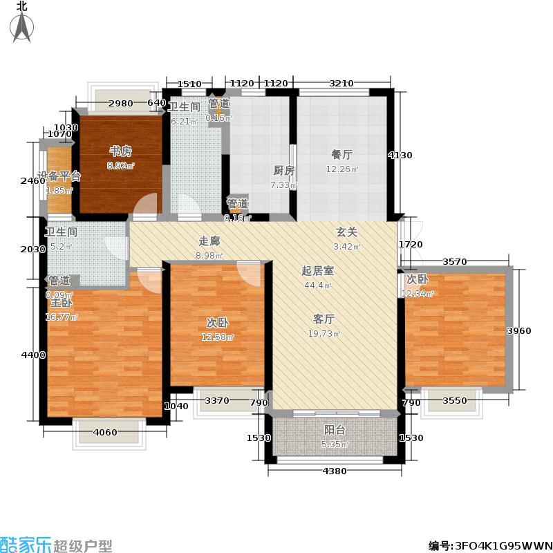 中南世纪花城141.00㎡28#楼A5户型