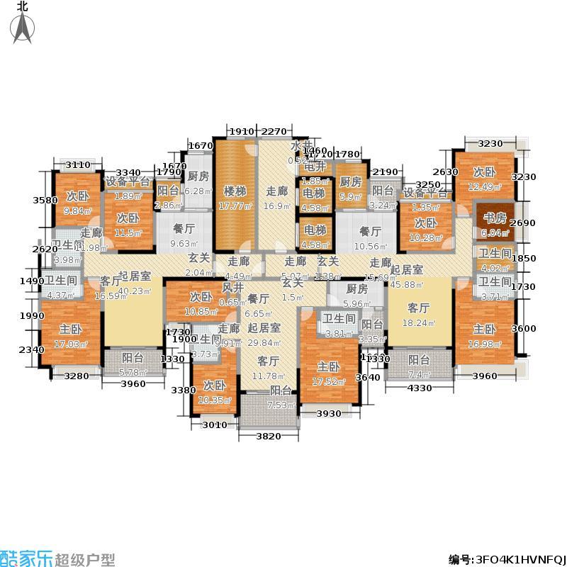 恒大雅苑29号栋平面示意图户型