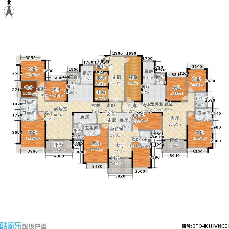恒大雅苑27号栋平面示意图户型