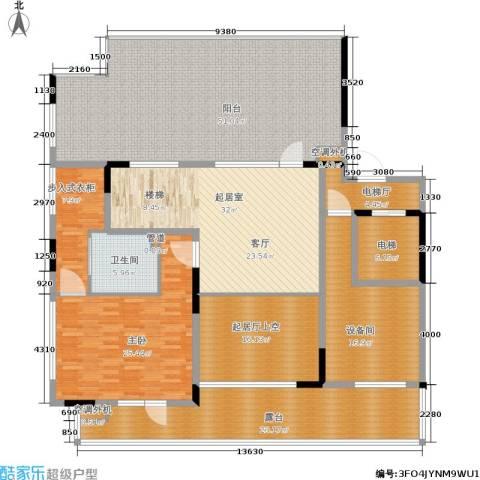 社会山有墅1室0厅1卫0厨212.00㎡户型图