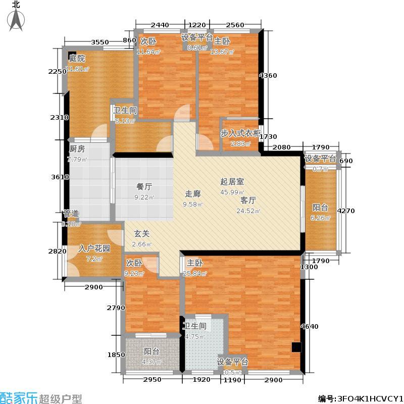 百信御江帝景181.57㎡10#楼02户型