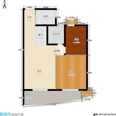 紫金凰庭2室0厅1卫1厨138.00㎡户型图