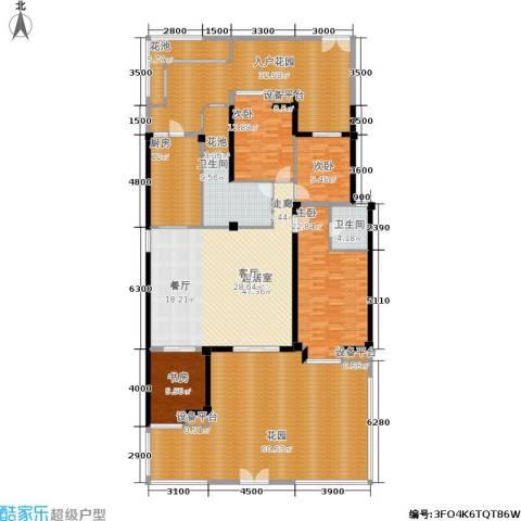 玉柴博望园4室0厅2卫1厨232.30㎡户型图