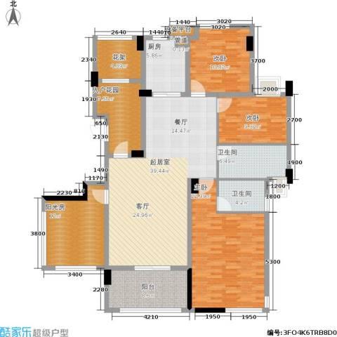 玉柴博望园3室0厅2卫1厨189.00㎡户型图