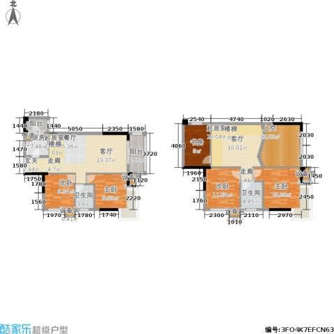 水墨林溪5室0厅2卫1厨153.41㎡户型图