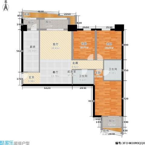 朗琴园3室0厅2卫1厨139.00㎡户型图