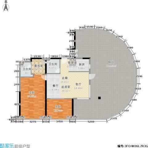 佳兆业东戴河2室0厅2卫0厨286.00㎡户型图