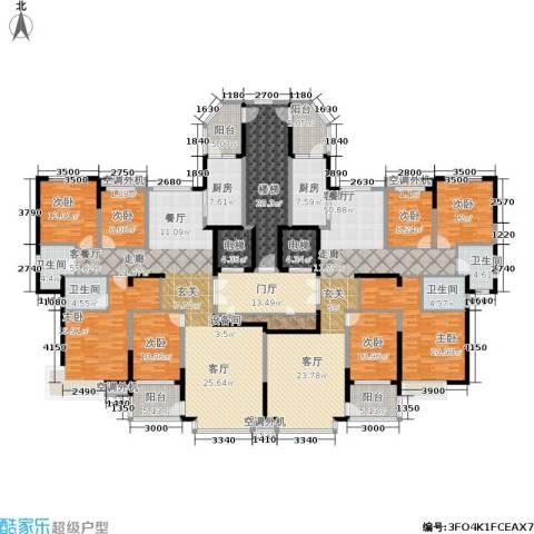 鹰潭恒大绿洲8室2厅4卫2厨314.46㎡户型图
