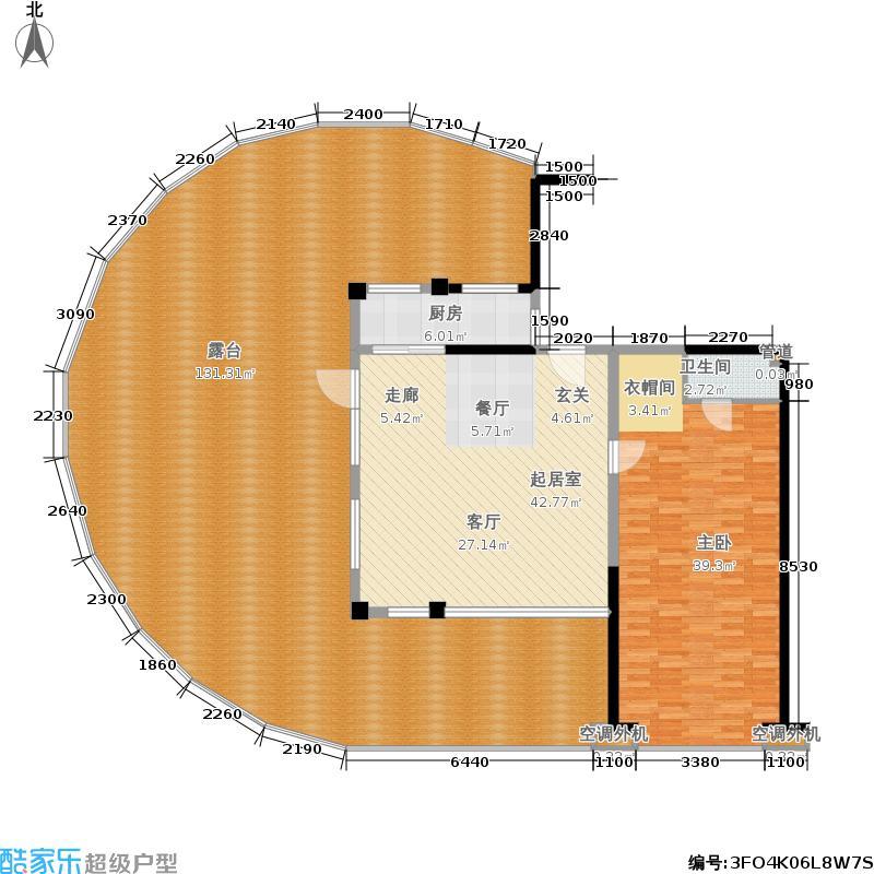 佳兆业东戴河公寓C8(售罄)户型