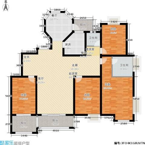 帝奥世伦名郡4室0厅2卫1厨191.00㎡户型图