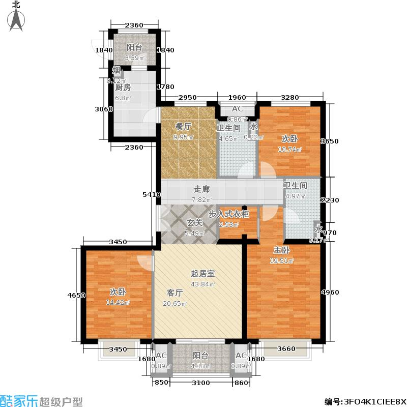 中建高街国际中建・高街国际A2#楼四居户型
