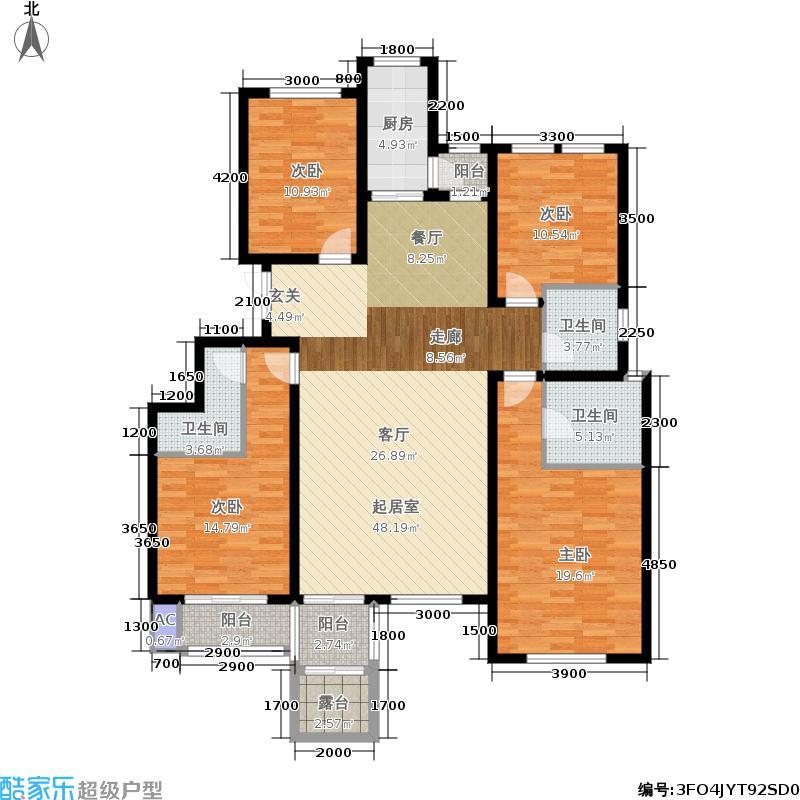 香江东湖印象2层-B4户型