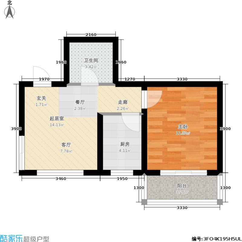 博林学苑1-D户型