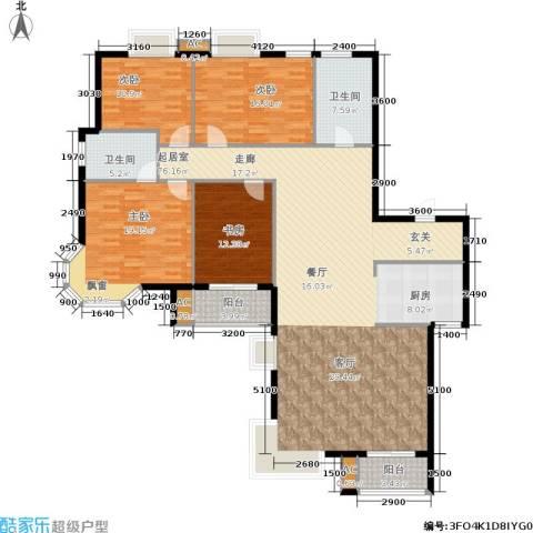 天籁华都4室0厅2卫0厨195.00㎡户型图