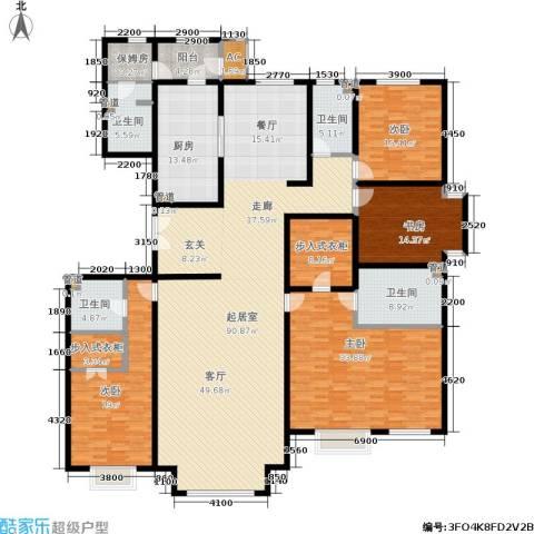 远洋沁山水上品4室0厅4卫1厨309.00㎡户型图