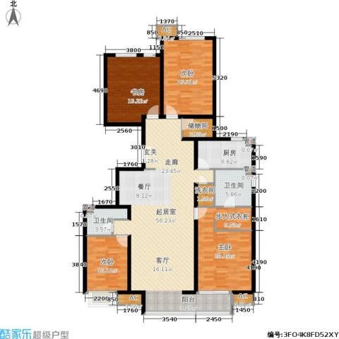 远洋沁山水上品4室0厅2卫1厨194.00㎡户型图