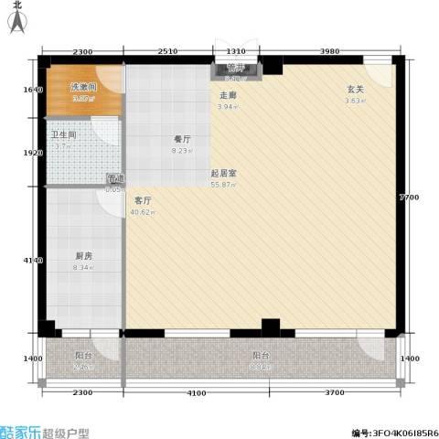 北京悦1卫1厨105.00㎡户型图