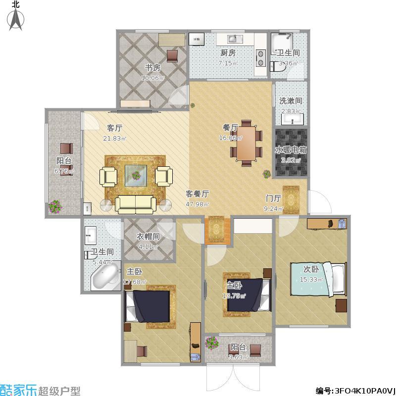 E1四室两厅两卫