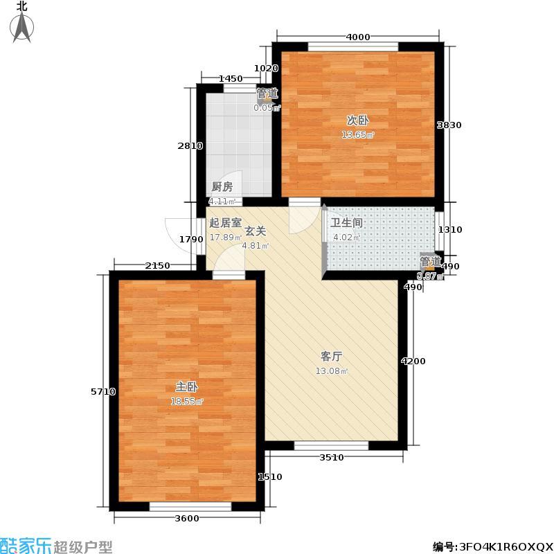 驼梁云中院1、3号楼A1户型
