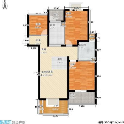 玲珑湾3室0厅1卫1厨98.00㎡户型图