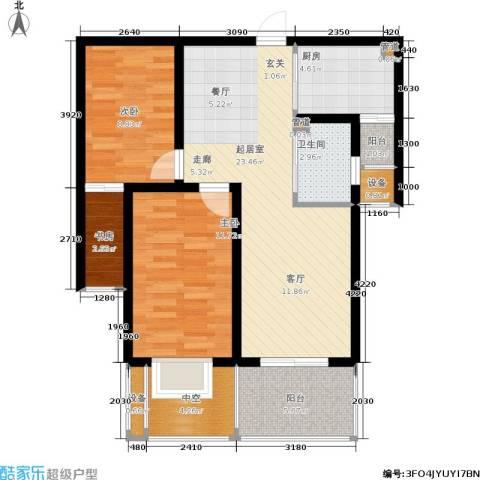 玲珑湾3室0厅1卫1厨78.00㎡户型图