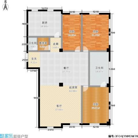 海河新天法桐墅3室0厅2卫1厨200.00㎡户型图