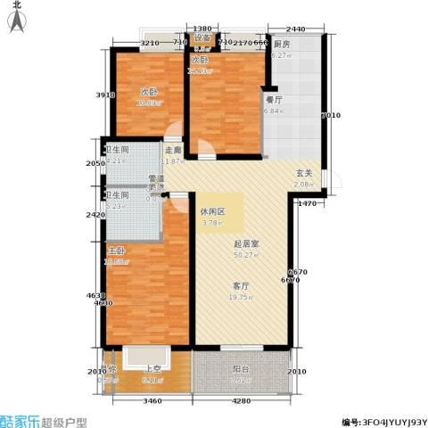 玲珑湾3室0厅2卫0厨133.00㎡户型图