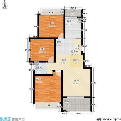 玲珑湾3室0厅1卫1厨105.00㎡户型图