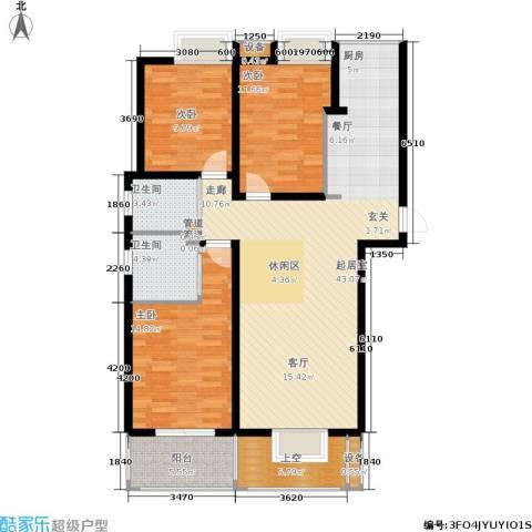 玲珑湾3室0厅2卫0厨113.00㎡户型图