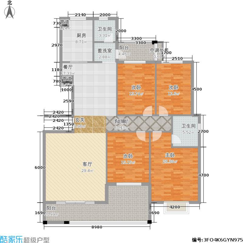 桂苑小区4室2厅2卫