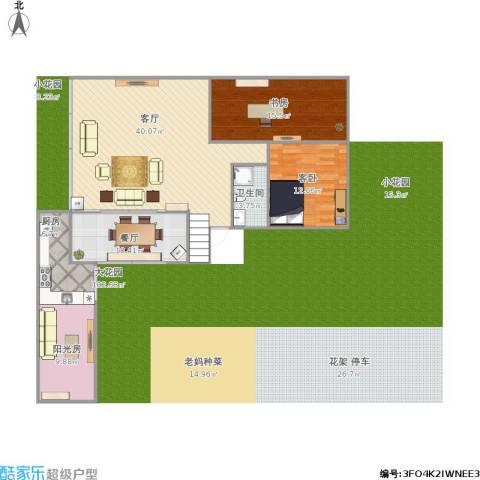 大唐世家(集美)2室2厅1卫1厨105.13㎡户型图