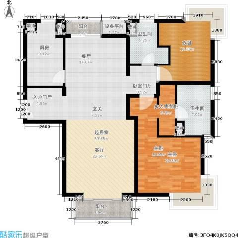 尚浦领世2室0厅2卫1厨133.00㎡户型图