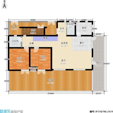 社会山有墅2室0厅2卫1厨212.00㎡户型图