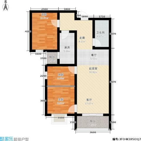 东龙府邸3室0厅1卫1厨102.00㎡户型图