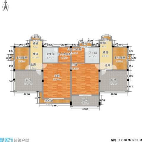 荆门碧桂园二期2室0厅2卫0厨223.00㎡户型图
