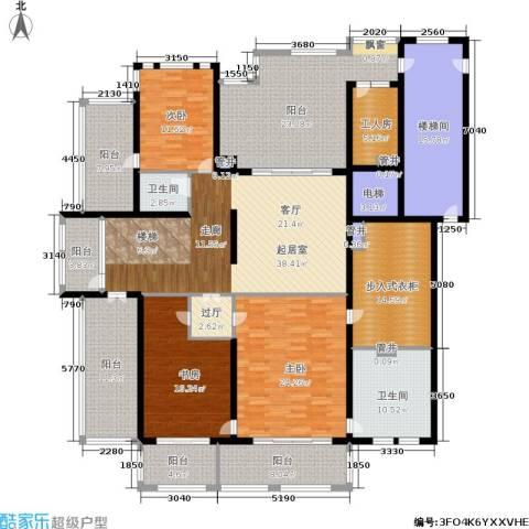 大美城翠园3室0厅2卫0厨464.00㎡户型图