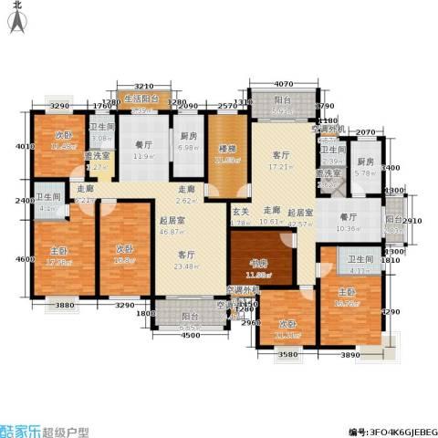 锦豪雍景园6室0厅4卫2厨336.00㎡户型图