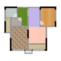 中岛明珠一房75平米户型-副本
