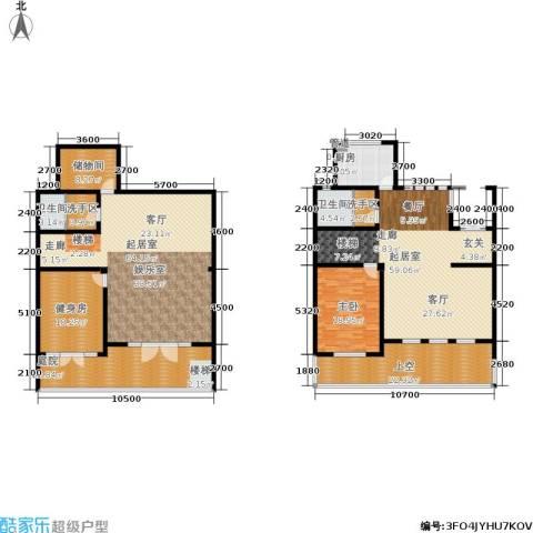 海川园1室0厅2卫1厨368.00㎡户型图