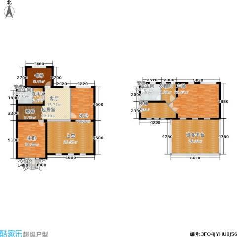 海川园4室0厅2卫0厨368.00㎡户型图