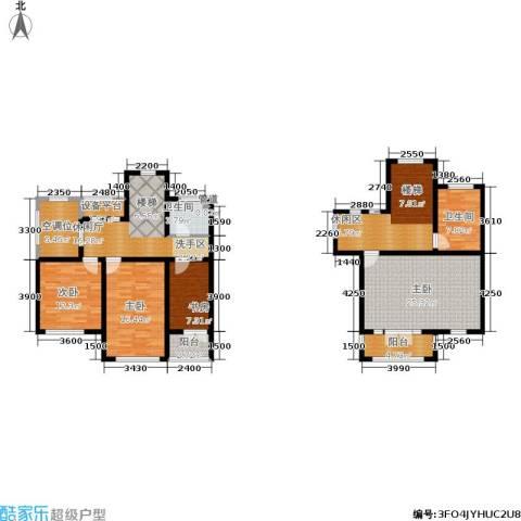 海川园4室0厅2卫0厨298.00㎡户型图