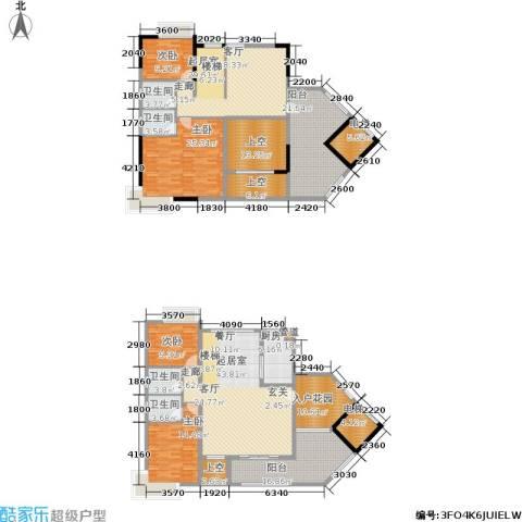 路福江韵华府4室0厅4卫1厨329.00㎡户型图