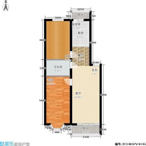 金豪斯经典二期2室0厅1卫0厨98.00㎡户型图